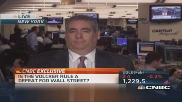 Final Volcker Rule Tuesday