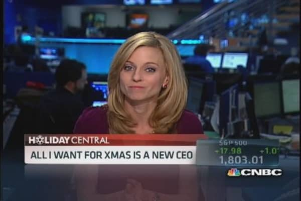 I want a new CEO for Christmas