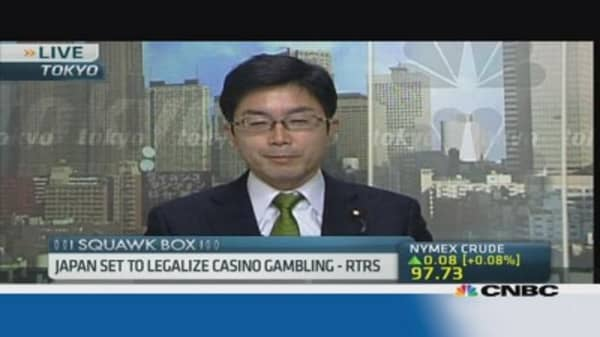 Japan gambles on casino bill