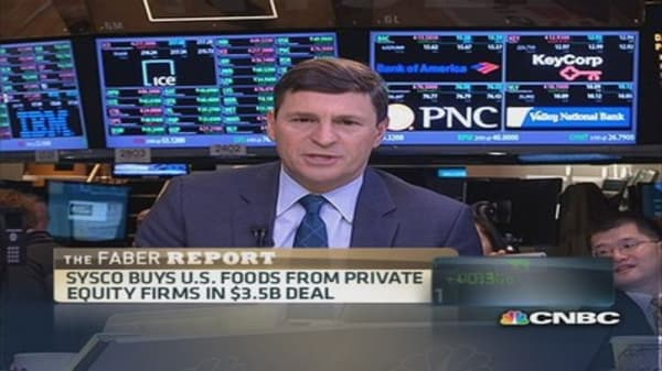 Faber Report: Sysco buys US Foods in $3.5 billion deal
