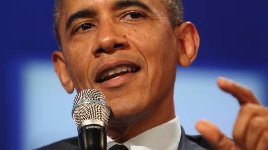 President Barack Obama in September 2013 in New York City.