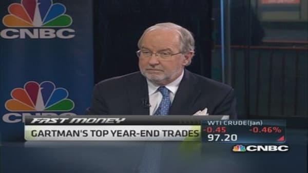 Gartman: Short US bond market