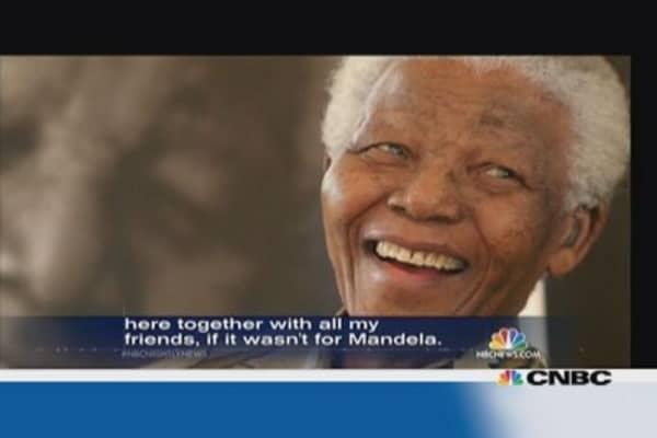 Global dignitaries arrive for Mandela funeral
