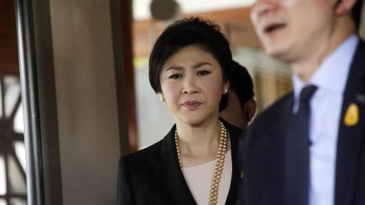 Thai Prime Minister Yingluck Shinawatra.