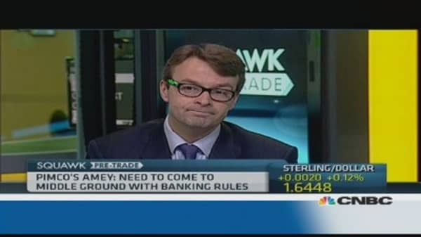 Volcker rule is 'detrimental' to bank lending: Pro