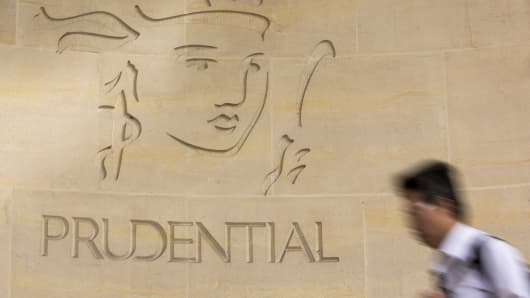 Prudential already has a large footprint in China — the challenge is to grow that, says its CEO