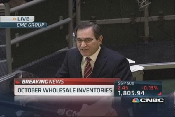 October wholesale inventories rise 1.4%