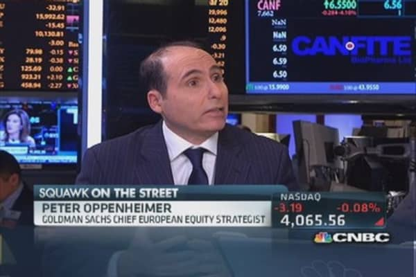 Goldman's European outlook