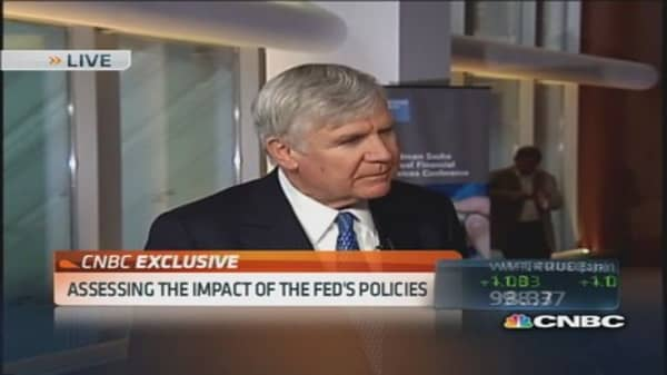 Initial moves of QE essential; Time to taper: Carlyle co-CEO