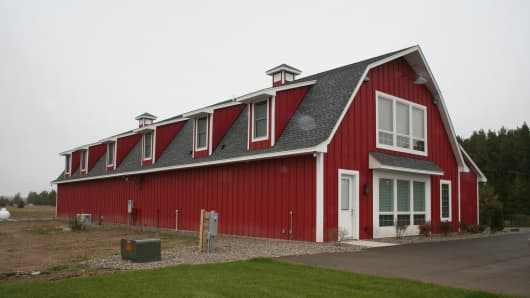 Cellette's barn