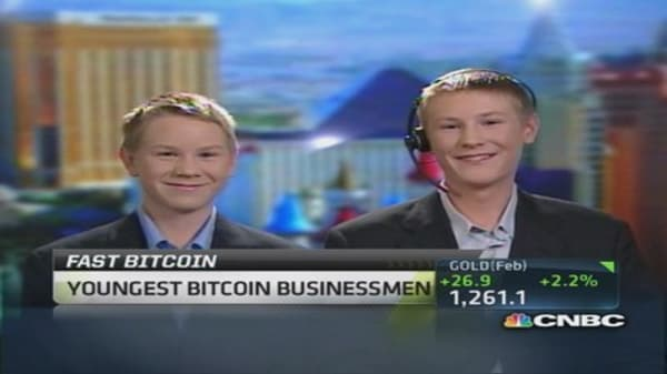 Youngest Bitcoin businessmen
