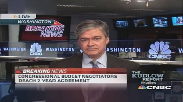 Congressional budget negotiators reach 2-year deal