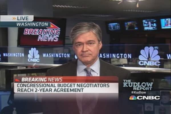 Congressional budget negotiators reach 2-year deal
