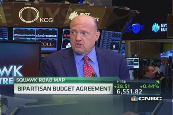 Cramer: Don't know if I like budget deal