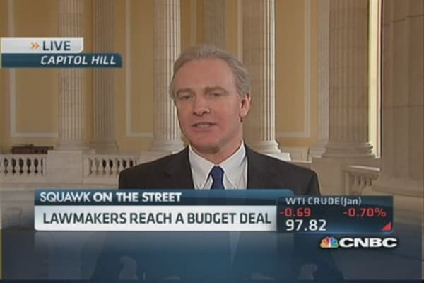 Rep. Van Hollen: Budget deal 'step in the right direction'