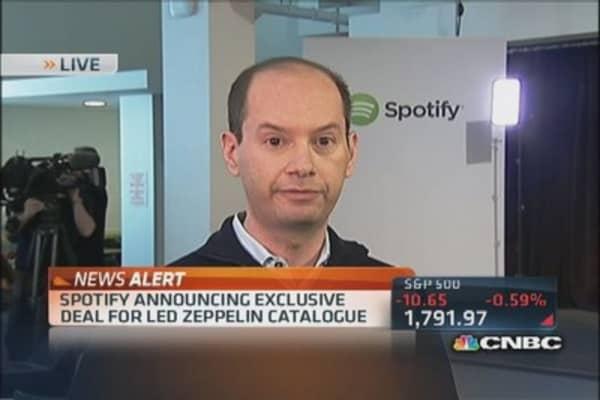 Spotify's new 'freemium' business model