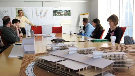 A conference room at JCJ Architecture. The firm became fully owned by its employees this year.