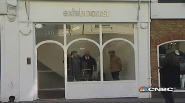 Major London art theft