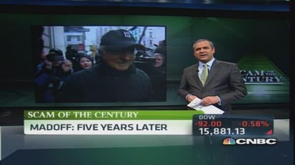 Bernie Madoff's life at Butner