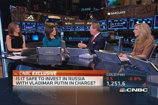 Safe to invest in Russia?