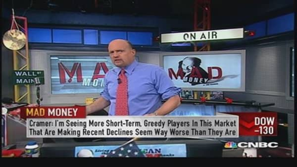 The market threw a sale today: Cramer