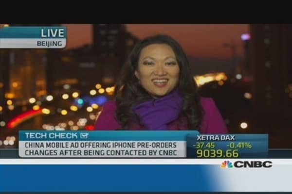 'Curious': China Mobile takes iPhone 5S pre-orders
