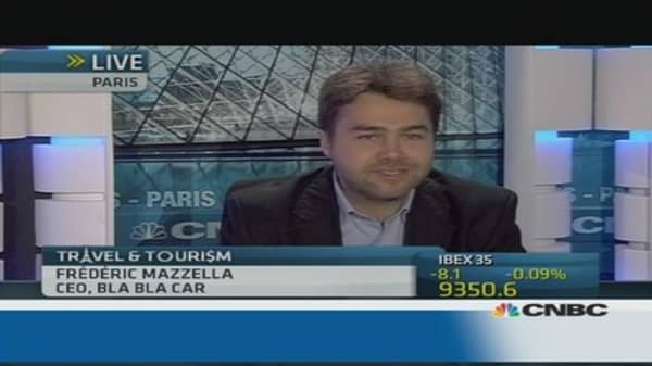 No back-seat driving - or chatting: BlablaCar CEO