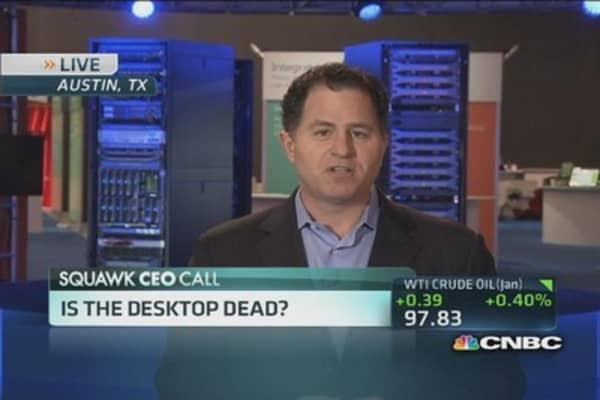 Dell CEO: PCs are 'still very essential'