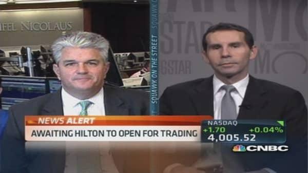 Hilton did a great job marketing IPO: Pro