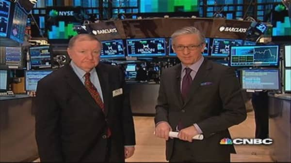 Cashin says: Watch for yields above 2.9%
