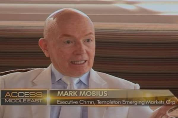 Egypt is a 'leader' in Middle East: Mobius