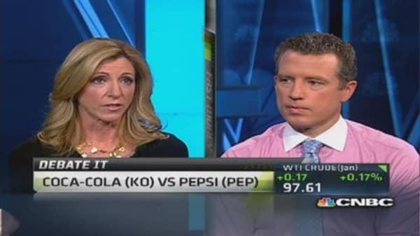 Traders choose Coke or Pepsi