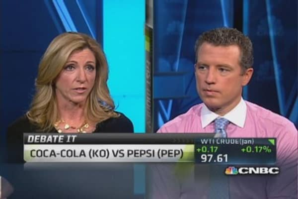 Traders choose Coke or Pepsi