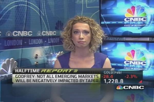 Negative taper impact to emerging markets?