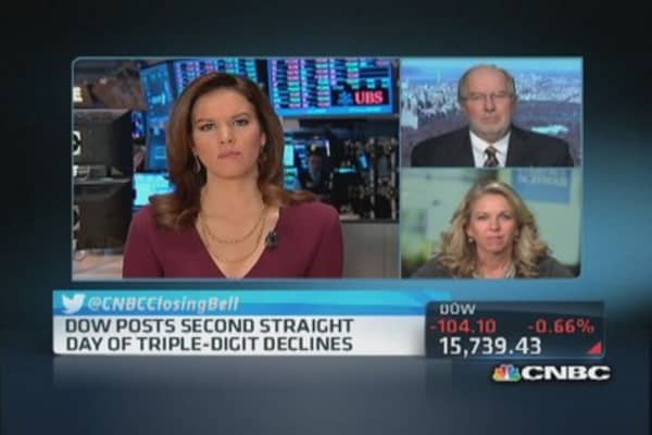 Gartman: We're due for a little correction