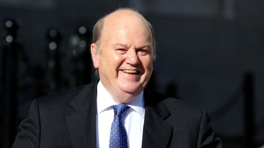 Irish Minister for Finance Michael Noonan.