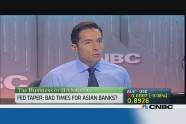 How will Asian banks fare after the taper?