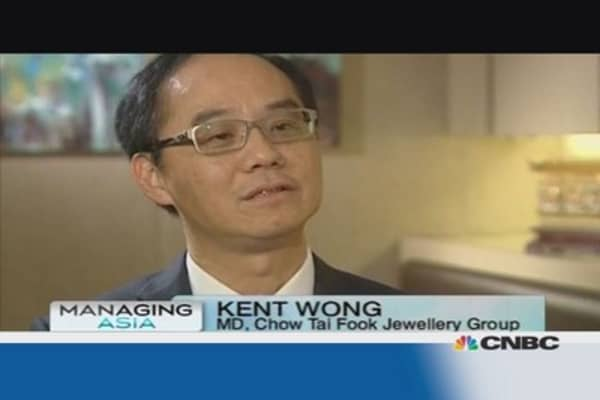 The world's largest jeweler upbeat on China demand