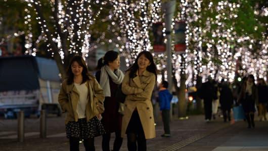 Tokyo on November 7, 2013.