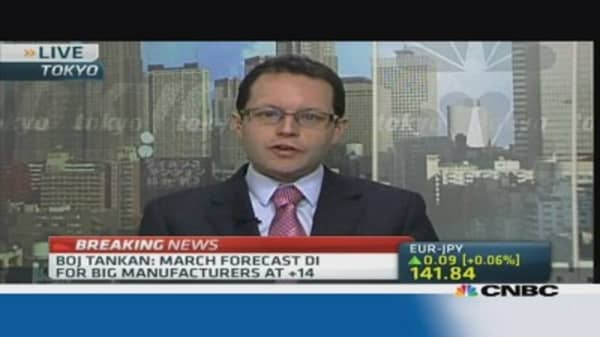 Tankan confirms upbeat Japan sentiment: Pro