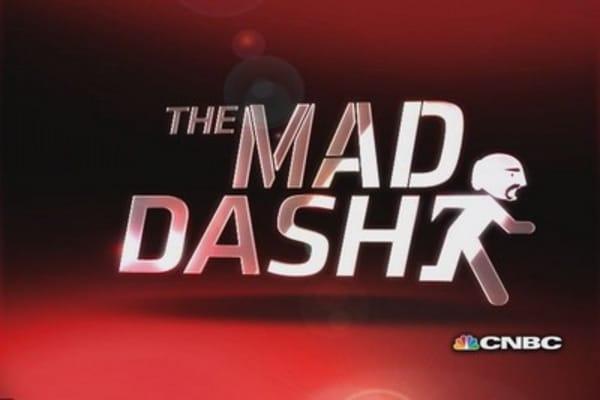 Cramer's Mad Dash: Exxon had extraordinary quarter