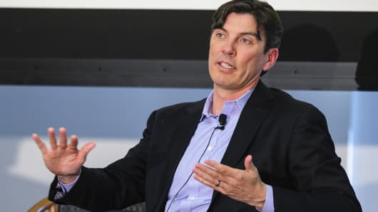 Tim Armstrong, chief executive officer of AOL.