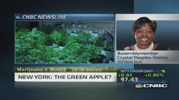 New York's marijuana legalization push