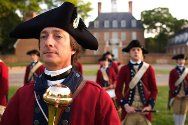 Fife-and-drum corps of Colonial Williamsburg, Virginia