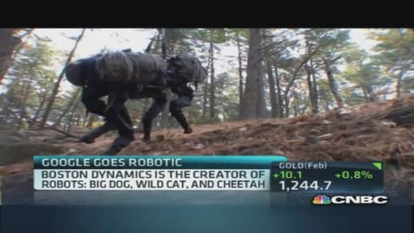 Google goes robotic