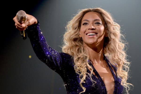 Entertainer Beyonce performs on stage during 'The Mrs. Carter Show World Tour' at the Staples Center on December 3, 2013 in Los Angeles, California.