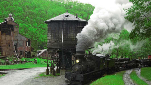 Cass Scenic Railroad State Park, West Virginia