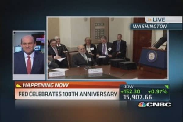 Fed celebrates 100th anniversary