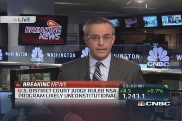 Judge: NSA program likely unconstitutional