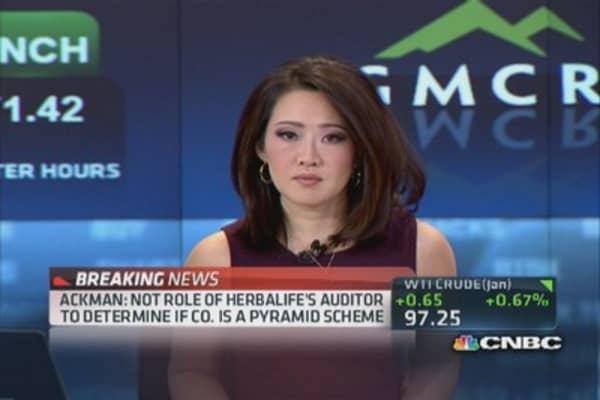 Ackman: Herbalife pyramid scheme will be shut down